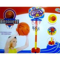 Kit Basquete Infantil com Base Bola e Inflador - Wellmix