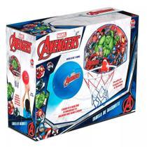 Kit Basquete Tabela Cesta Bola Vingadores Avengers Infantil - Líder