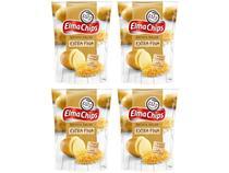 Kit Batata Palha Elma Chips Extra Fina 100g - 4 Unidades