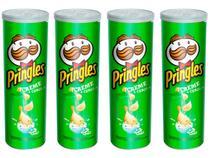 Kit Batata Pringles Creme e Cebola 4 Unidades - 120g Cada