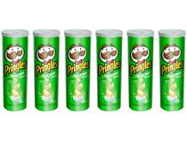 Kit Batata Pringles Creme e Cebola 6 Unidades - 120g Cada