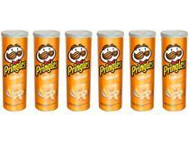 Kit Batata Pringles Queijo 6 Unidades - 120g Cada