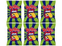 Kit Batata Ruflles Cebola e Salsa 84g 6 Unidades -