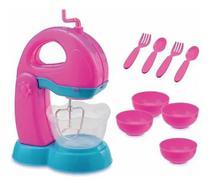 Kit Batedeira De Brinquedo Le Chef Colors - Usual Brinquedos -