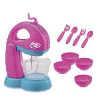 Kit Batedeira Infantil C/Acessórios Le chef Usual Brinquedos -