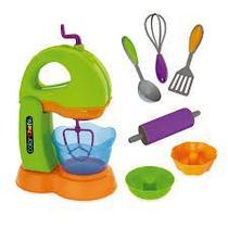 Kit Batedeira Infantil Com Acessórios Color Chefs 413 Usual - Usual Brinquedos