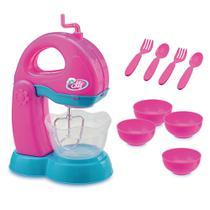 Kit Batedeira Infantil Le Chef com Acessórios - Usual Brinquedos -