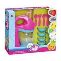 Kit Batedeira Le Chef Cozinha Infantil C/ Acessórios - Usual Brinquedos