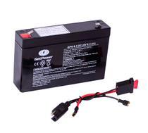 Kit Bateria 6v 8,5ah + Chicote - Moto Elétrica - Get Power