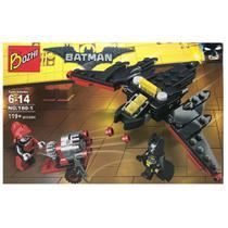 Kit  Batman + Arlequina Bonecos Blocos de Montar 119 peças - Sy