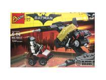 Kit  Batman + Homem Zebra Bonecos Blocos de Montar 124 peças - Sy