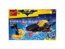 Kit  Batman + Pinguim Bonecos Blocos de Montar 99 peças - Sy