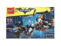 Kit  Batman x Espantalho Bonecos Blocos de Montar 98 peças - Sy