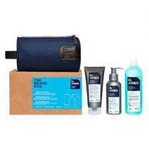 Kit beard box barba gel creme shampoo dr. jones unica - Dr.jones
