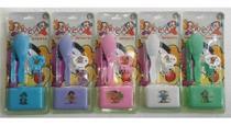 Kit Bebê Escova +Pente + Prendedor + Saboneteira - Rca Produtos Infantis -