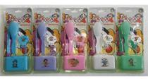 Kit Bebê Escova +Pente + Prendedor + Saboneteira - RCA Produtos Infantis