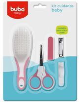 Kit Bebê Higiene Cuidados Rosa Buba - Buba toys
