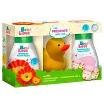 Kit Bebe Love Shampoo e Condicionador Com Bichinho Amarelo- Nutriex -
