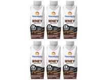 Kit Bebida Láctea Piracanjuba Whey Cacau - Zero Lactose 250ml 6 Unidades