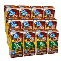 Kit Bebida Láctea Pirakids School Sabor Chocolate 12x200ml - Piracanjuba