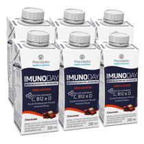 Kit Bebida Piracanjuba Imunoday Choco Zero Lactose 6x200ml -