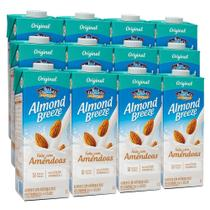 Kit Bebidas de Amêndoas Almond Breeze 12x1L - Blue Diamond