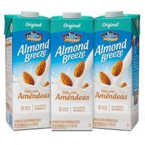 Kit Bebidas de Amêndoas Almond Breeze 3x1L - Blue Diamond