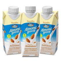 Kit Bebidas de Amêndoas Almond Breeze 3x250ml - Blue Diamond