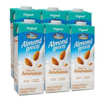 Kit Bebidas de Amêndoas Almond Breeze 6x1L - Blue Diamond