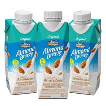Kit Bebidas de Amêndoas Almond Breeze Baunilha 3x250ml - Blue Diamond