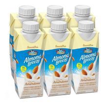 Kit Bebidas de Amêndoas Almond Breeze Baunilha 6x250ml - Blue Diamond