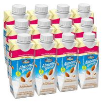 Kit Bebidas de Amêndoas Almond Breeze Baunilha Zero 12x250ml - Blue Diamond