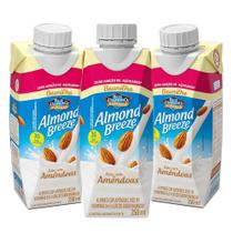 Kit Bebidas de Amêndoas Almond Breeze Baunilha Zero 3x250ml - Blue Diamond