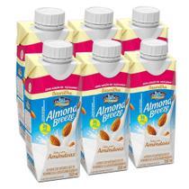Kit Bebidas de Amêndoas Almond Breeze Baunilha Zero 6x250ml - Blue Diamond