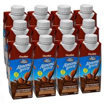 Kit Bebidas de Amêndoas Almond Breeze Chocolate 12x250ml - Blue Diamond