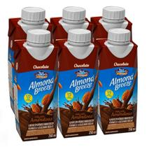 Kit Bebidas de Amêndoas Almond Breeze Chocolate 6x250ml - Blue Diamond