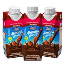 Kit Bebidas de Amêndoas Almond Breeze Chocolate Zero 3x250ml - Blue Diamond