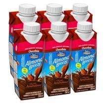 Kit Bebidas de Amêndoas Almond Breeze Chocolate Zero 6x250ml - Blue Diamond