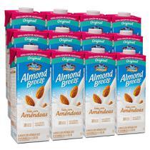 Kit Bebidas de Amêndoas Almond Breeze Zero 12x1L - Blue Diamond