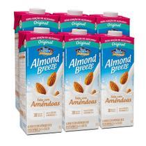 Kit Bebidas de Amêndoas Almond Breeze Zero 6x1L - Blue Diamond