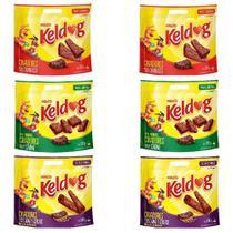 KIT Bifinho Keldog 2 Churrasco +2 Cereais +2 Carne 500g Cada - Kelco