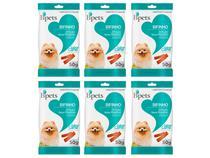 Kit Bifinho para Cachorro Adulto Bpets - Carne Frutas e Cereais 6 Unidades 50g Cada