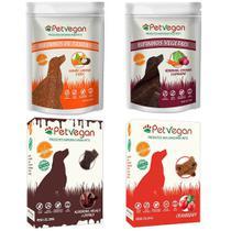 Kit Bifinhos Biscoitos Veganos Gluten Free Cães -Pet Vegan F -