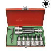 Kit Bits Soquetes Torx com 11 peças - CL196 - 4121 - Maclauren