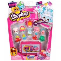 Kit Blister com 12 Shopkins Sortidos  DTC -