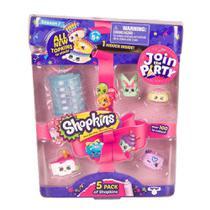 Kit Blister com 5 Shopkins Sortidos - Série 7 - DTC -