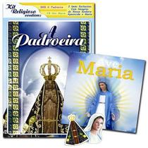 Kit blister religioso - a padroeira + ave maria (dvd + cd) - Armazem
