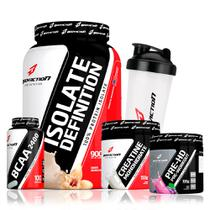 Kit Body Action - Whey Isolado Bcaa Creatina Pré Hd