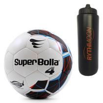 Kit Bola Futebol Campo Ultimate N.4 Nacional Super Bolla + Squeeze  Automático 1lt bdbc4e6e9cc52