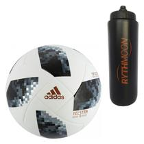Kit Bola Futebol Campo World Cup Russia 2018 Top Glider Adidas + Squeeze  Automático 1lt aa3d0f58bbf48